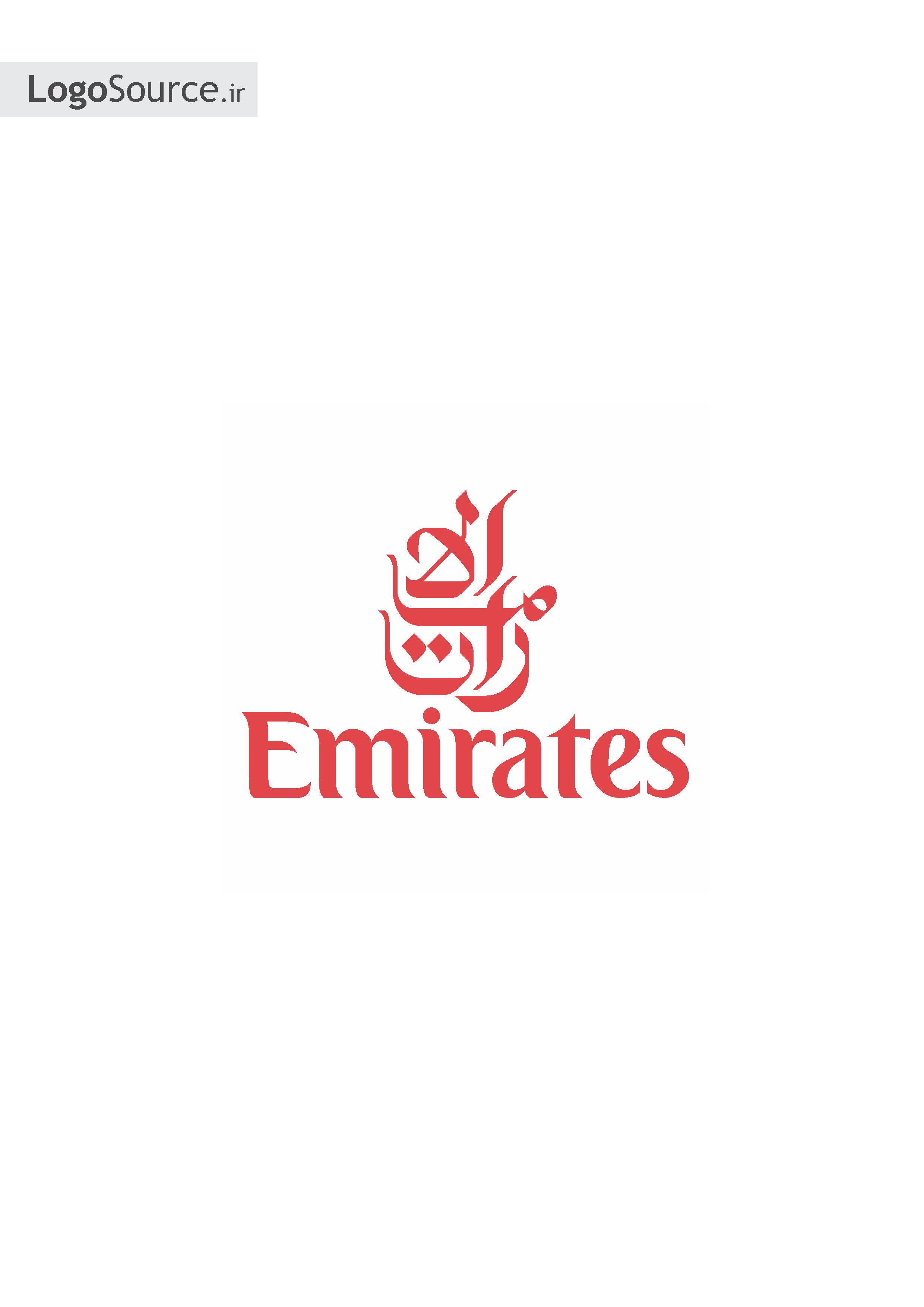 emirates airlines logo vector wwwimgkidcom the image